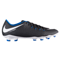 Nike Hypervenom Phelon III FG - Men's - Black / White