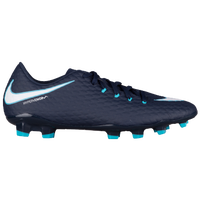 Nike Hypervenom Phelon III FG - Men's - Navy / White