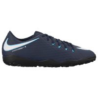 Nike HypervenomX Phelon III TF - Men's - Navy / White