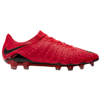 Nike Hypervenom Phantom III FG - Men's - Red / Black