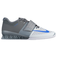 Nike Romaleos 3 - Men's - Grey / Light Blue