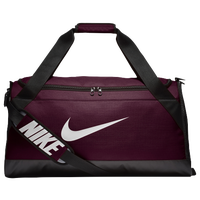 Nike Brasilia Medium Duffel - Maroon / Black