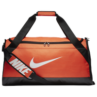 Nike Brasilia Medium Duffel - Orange / Black