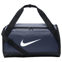 Nike Brasilia Small Duffel - Navy / Black