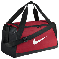 Nike Brasilia Small Duffel - Red / Black