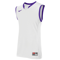 Nike Team Enferno Jersey - Men's - White / Purple