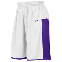 Nike Team Enferno Shorts - Men's - White / Purple