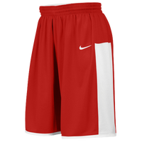 Nike Team Enferno Shorts - Men's - Red / White