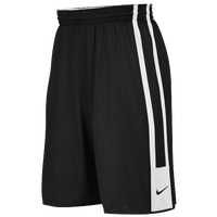 Nike Team League Reversible Short - Boys' Grade School - Black / White