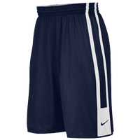 Nike Team League Reversible Shorts - Boys' Grade School - Navy / White