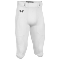 Under Armour Team Stock Instinct Pants - Men's - All White / White