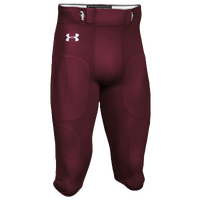 Under Armour Team Stock Instinct Pants - Men's - Maroon / Maroon