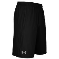 Under Armour Team Pocketed Raid Shorts - Men's - All Black / Black
