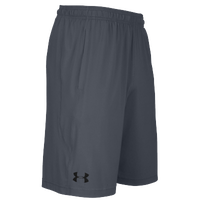 Under Armour Team Pocketed Raid Shorts - Men's - Grey / Grey