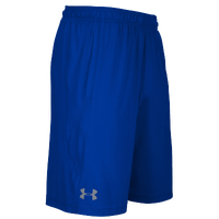 Under Armour Team Pocketed Raid Shorts - Men's - Blue / Blue