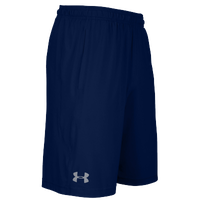 Under Armour Team Pocketed Raid Shorts - Men's - Navy / Navy