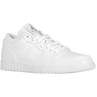 Jordan AJ1 Low - Men's - White / White