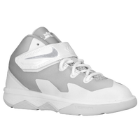 Nike Soldier VIII - Boys' Preschool - Lebron James - White / Silver