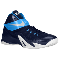 Nike Zoom Soldier VIII - Men's - Navy / Light Blue