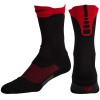 Nike Elite Versatility Crew Socks - Black / Red