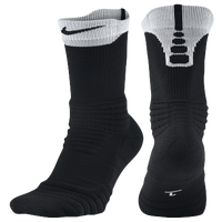 Nike Elite Versatility Crew Socks - Black / White