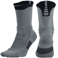 Nike Elite Versatility Crew Socks - Grey / Black