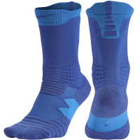 Nike Elite Versatility Crew Socks - Blue / Light Blue