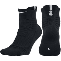 Nike Elite Versatility Quarter Socks - Black / Red