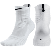 Nike Elite Versatility Quarter Socks - White / Black