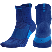 Nike Elite Versatility Quarter Socks - Blue / Light Blue