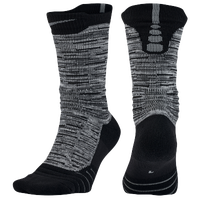 Nike Elite Versatility CRV Crew Socks - Grey / Black