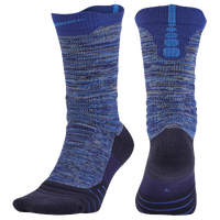 Nike Elite Versatility CRV Crew Socks - Light Blue / Blue