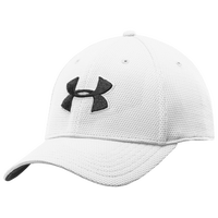 Under Armour Blitzing II Stretch Fit Cap - Men's - White / Black