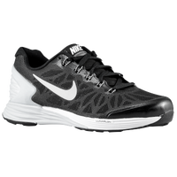 Nike LunarGlide 6 - Boys' Grade School - Black / Grey