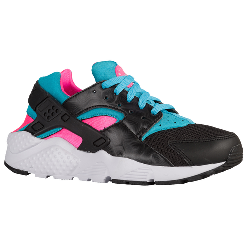 1134238dc68 Nike Huarache Run - Girls  Grade School - Running - Shoes - Black Pink