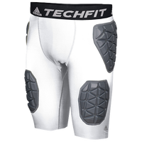adidas Ironskin 5-Pad Football Girdle - Men's - White / Grey