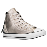 Converse All Star Tri Zip - Women's - Silver / White
