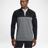 Nike Golf Therma Fit 1/2 Zip Cover Up - Men's - Black / Grey