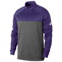 Nike Golf Therma Fit 1/2 Zip Cover Up - Men's - Purple / Grey