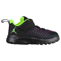 Jordan Extra.Fly - Boys' Toddler - Black / Light Green