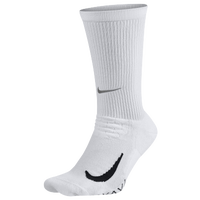 Nike Dri-FIT Elite Running Cushion Crew - White / Black