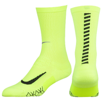 Nike Dri-FIT Elite Running Cushion Crew - Light Green / Black