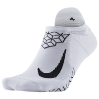 Nike Dri-FIT Elite Cushion No Show Tab - White / Black