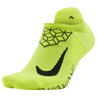 Nike Dri-FIT Elite Cushion No Show Tab - Light Green / Black