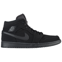 Jordan AJ1 Mid - Men's - Black / Blue