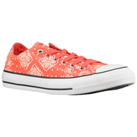 Converse All Star Ox - Women's - Orange / White