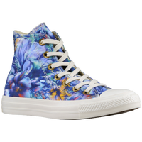 Converse All Star Hi - Women's - Light Blue / White
