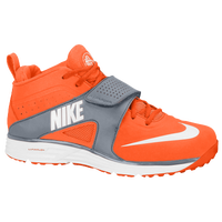 Nike Huarache Turf Lacrosse - Men's - Orange / White