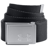 Under Armour Webbing 2.0 Golf Belt - Men's - Black / Silver