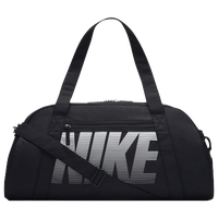 Nike Gym  Club Duffel - Black / White